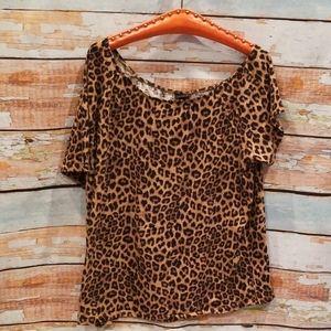 NWOT BARELY WORN Torrid 3 Cheetah Print Tee!